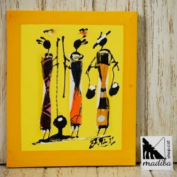 Modou's Art wax fabric -...
