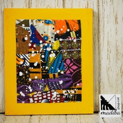 Modou's Art wax fabric...