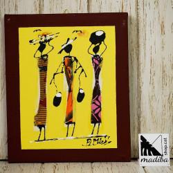 Modou's Art wax fabric -...