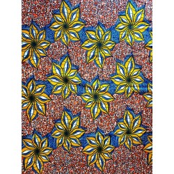 African Wax Fabric Printed...
