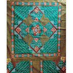 African Wax Fabric Ethnic...