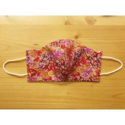 Masque réversible en tissu Japonais 100% coton