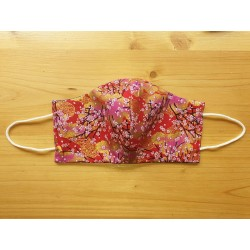 Reversible cloth face mask with Japanese fabric 100% cotton