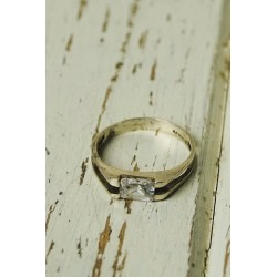 Antique silver ring of...