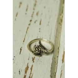 Antique silver ring in the...
