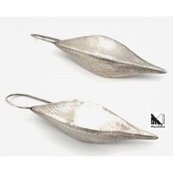 Pendientes de plata elegantes
