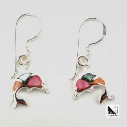 Boucles d'oreilles dauphin...