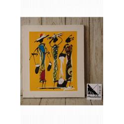 Art d'en Modou tela wax -...