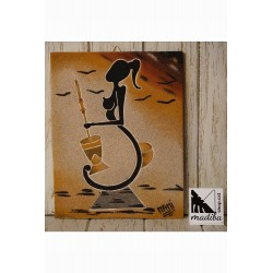 Arte de arena de Mami -...