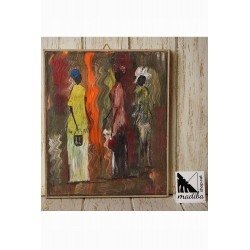Art africà de Boca - dones de compres