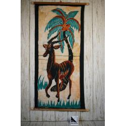 African art in batik