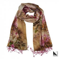 Seda 100% Muy suave - Pañuelo/Bufanda/Fular cálido para otoño e invierno