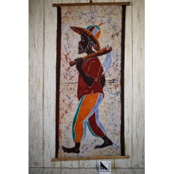 African art in batik - Farmer