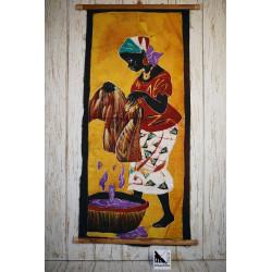 Art africain en batik -...
