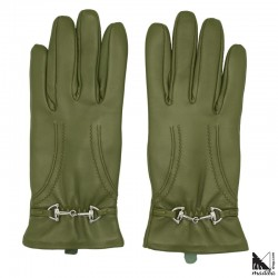 Leather gloves - metal part...