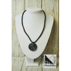 Leather's necklace