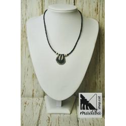 Africa amulet necklace
