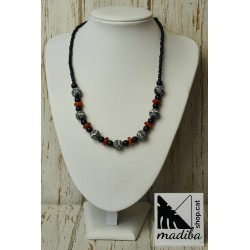 Bintou necklace - Carnelian...