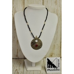 Tuareg necklace with Agate