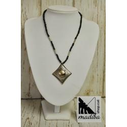 Tuareg necklace rhombus