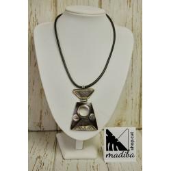 Tuareg necklace with ebony