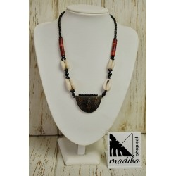 Tribal tuareg necklace with...