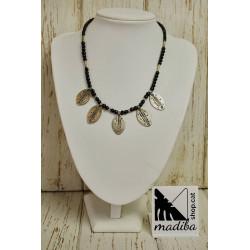 Tuareg necklace - leaves