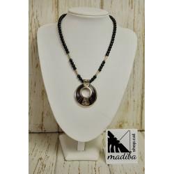 Tuareg necklace with ebony...