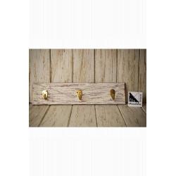 Colgador de madera