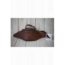 Pochette de ceinture en cuir